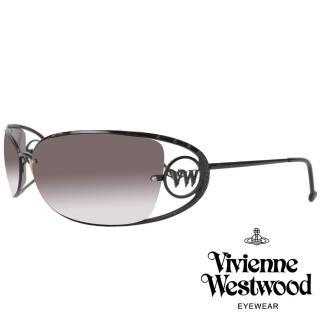 【Vivienne Westwood】摩登復古圓點款太陽眼鏡(黑 VW519_02)  Vivienne Westwood