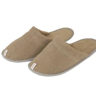 【今治織上】今治認證 毛巾拖鞋(咖啡色)優惠推薦  今治織上