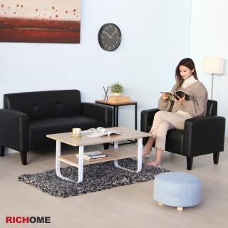 【RICHOME】威克沙發組(1人座+2人座)  RICHOME