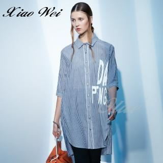 【CHENG DA】專櫃精品春夏款時尚五分袖襯衫(NO.021026)  CHENG DA