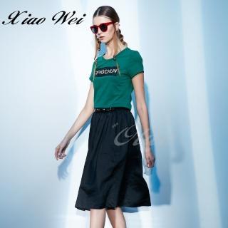 【CHENG DA】專櫃精品春夏款時尚短袖洋裝(NO.021031)  CHENG DA