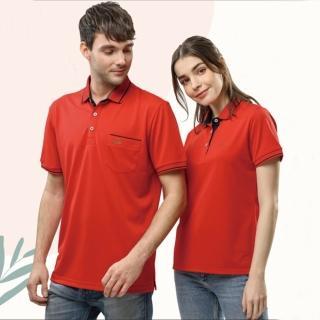 【Per GIBO】紅/丈青女短POLO衫(PK202987)  Per GIBO