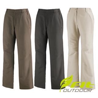【Fit 維特】女-吸排抗UV 休閒長褲-三色內選 DS2801(透氣合身/機能/下著/運動休閒)  Fit 維特