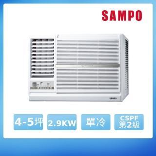 【SAMPO 聲寶】福利品-4-6坪變頻窗型冷氣(AW-PC28DL) 推薦  SAMPO 聲寶