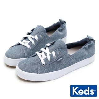 【Keds】DARCY 文青後鬆緊休閒鞋(藍)好評推薦  Keds