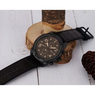 【FOSSIL】Bronson 運動風旗鑑型男計時錶-50mm(FS5713)評價推薦  FOSSIL