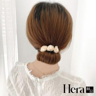 【HERA 赫拉】韓式文藝花朵花苞盤髮器-3色(文藝 花苞 盤髮器 捲髮器)  HERA 赫拉