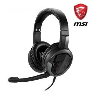 【MSI 微星】Immerse GH30 V2 耳罩式電競耳機  MSI 微星