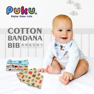 【PUKU 藍色企鵝】柔棉造型領巾2入(約42*29*29cm)優惠推薦  PUKU 藍色企鵝
