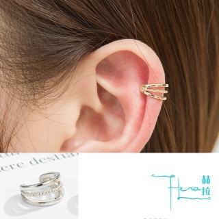 【HERA 赫拉】復古幾何簡約無耳洞耳骨夾-2色(金屬 簡約 幾何 線條)折扣推薦  HERA 赫拉