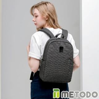 【METODO 防盜包】Backpack M 不怕割後背包(TSL-601隕石黑/RFID/耐磨/出遊旅行/日常休閒/防潑水/商務包) 推薦  ATUNAS 歐都納