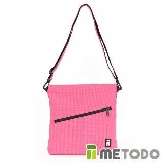 【METODO 防盜包】Shoulder Bag 不怕割斜背包(TSL-204甜蜜桃/RFID/耐磨/出遊旅行/日常休閒/防潑水/側背包) 推薦  ATUNAS 歐都納