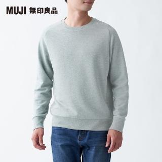 【MUJI 無印良品】男棉混節紗裏毛圓領衫(共4色)  MUJI 無印良品