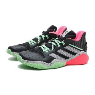 【adidas 愛迪達】籃球鞋 HARDEN STEPBACK 黑 綠桃紅 潑墨 大鬍子 哈登 緩衝 男(FW8486)  adidas 愛迪達