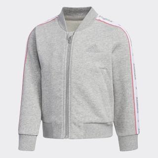 【adidas官方旗艦館】飛行外套 男童/女童(EH4097)折扣推薦  adidas 愛迪達