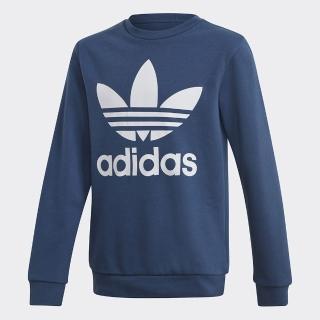 【adidas官方旗艦館】LOGO 長袖上衣 男童/女童(FM5646)品牌優惠  adidas 愛迪達