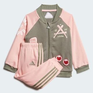 【adidas官方旗艦館】運動套裝 男童/女童(FM6406)  adidas 愛迪達
