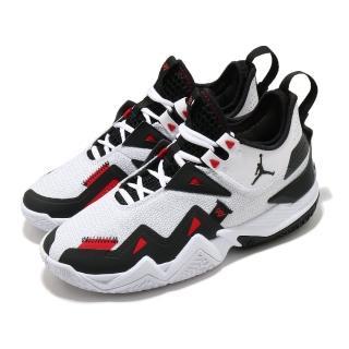 【NIKE 耐吉】籃球鞋 Westbrook One 運動 男鞋 明星款 避震 包覆 球鞋 XDR外底 白 黑(CJ0781-101)  NIKE 耐吉