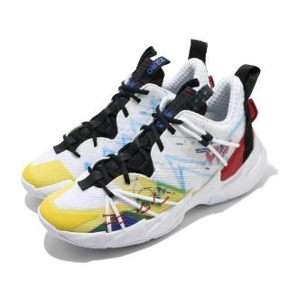 【NIKE 耐吉】籃球鞋 Why Not Zer0.3 運動 男鞋 明星款 避震 包覆 球鞋 XDR外底 白 彩(CK6612-100)  NIKE 耐吉