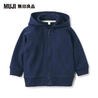 【MUJI 無印良品】幼兒棉混柔軟裏毛連帽外套(共2色) 推薦  MUJI 無印良品