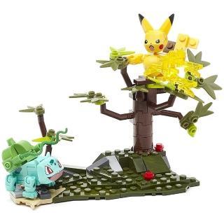 【POKEMON 精靈寶可夢】Mega Construx 美高創建精靈寶可夢 妙蛙種子與皮卡丘對戰組 推薦  POKEMON 精靈寶可夢