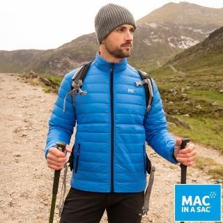 【MAC IN A SAC】男款輕暖袋著走雙面羽絨外套(MNS126寶藍/橘/輕量保暖/戶外/休閒/收納體積小)優惠推薦  ATUNAS 歐都納