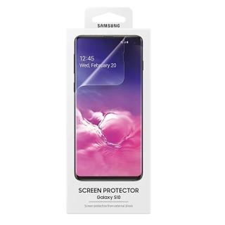 【SAMSUNG 三星】GALAXY S10 原廠螢幕保護貼(台灣公司貨)  SAMSUNG 三星