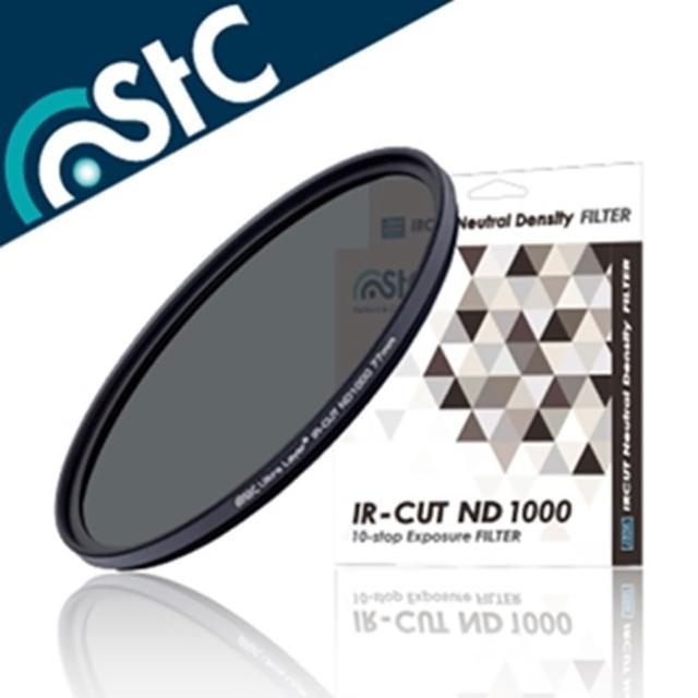 【STC】多層鍍膜IR-CUT濾紅外線ND1000減光鏡-超薄框77mm減光鏡(紅外光濾鏡)/