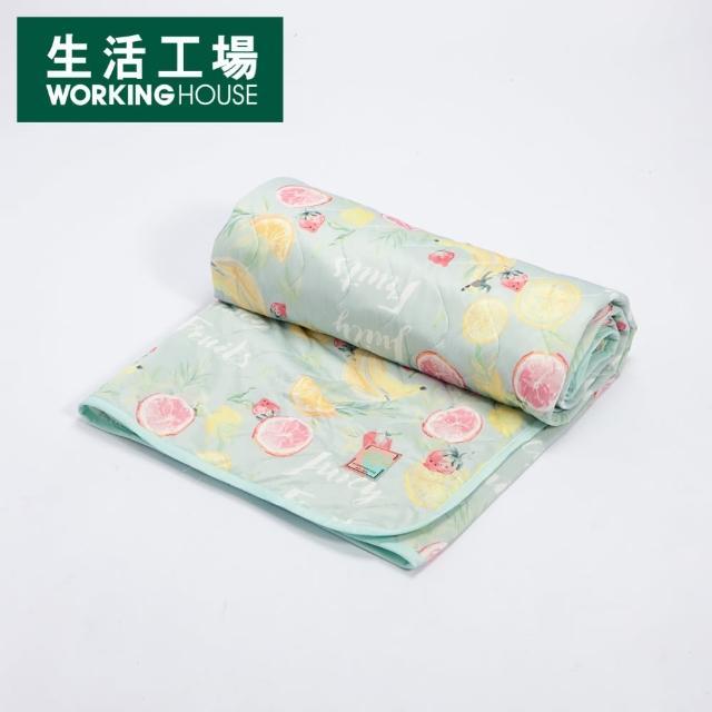 【生活工場】【618品牌週】沁甜果舞涼感床墊186*150cm/