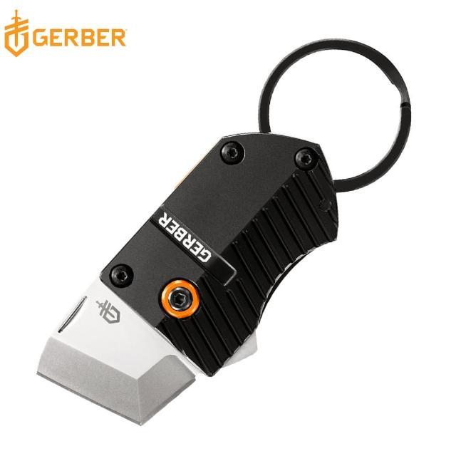 【Gerber】迷你切削兩用鑰匙圈口袋折刀