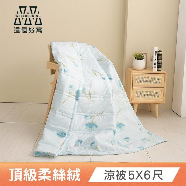 【這個好窩】韓系柔絲絨舒柔水洗涼被四季被(5X6尺多色任選)/
