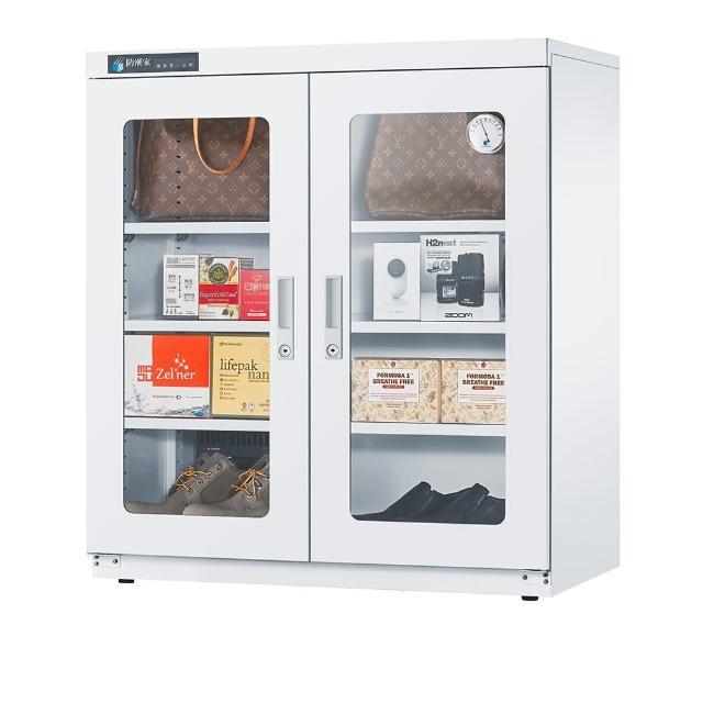 【防潮家】365公升簡約白大型防潮鞋衣櫃/衣櫃/收納櫃(D-365CW)/