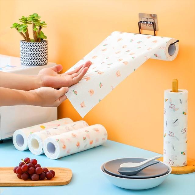 【家用清潔】懶人吸水廚房紙巾、抹布(捲筒紙巾)/