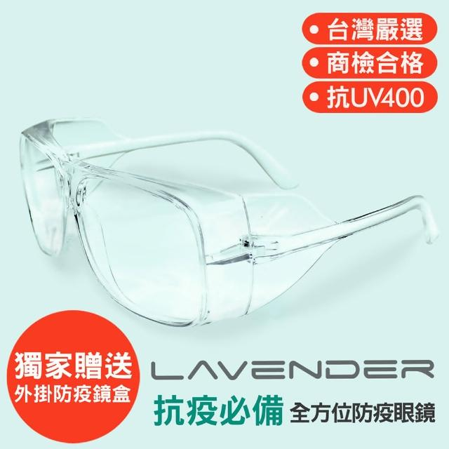 【Lavender】全方位防護眼鏡-205