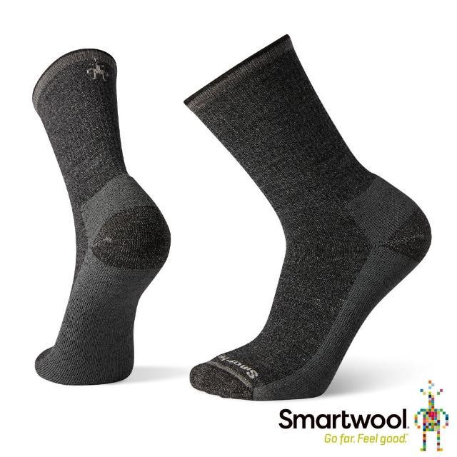 【SmartWool】輕量減震徒步印花中長襪-Hiker