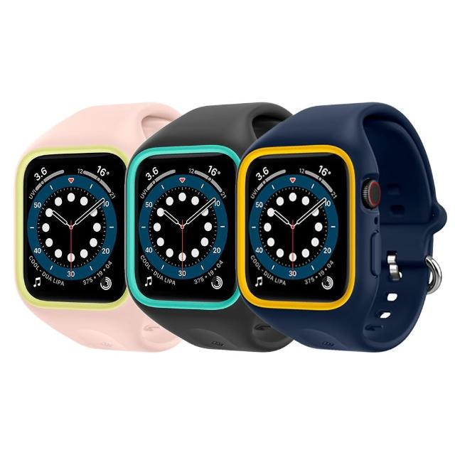【Spigen】Caseology Apple Watch Sereis SE/6/5/4 Nano Pop-防摔保護殼專業版(44mm SGP)