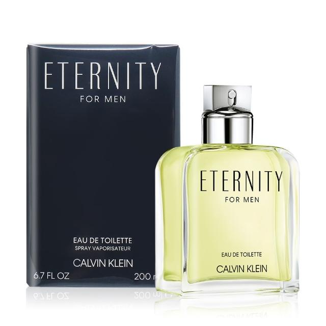 【Calvin Klein】CK Eternity for men 永恆男性淡香水(200ml-公司貨)