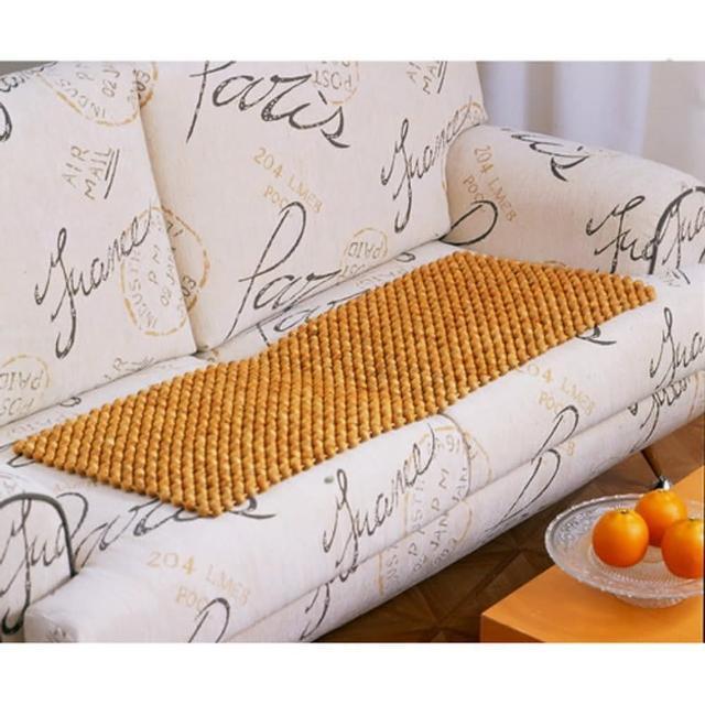 【格藍傢飾】天然檜木珠 沙發墊(50x110CM)