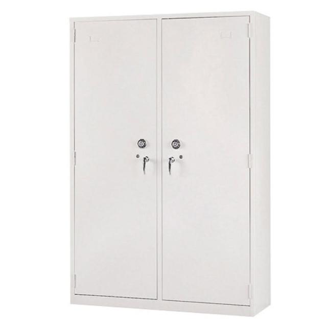 【時尚屋】雙開門密碼鎖保密鋼製公文櫃(Y105-10)