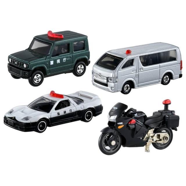 【TOMICA】緊急事件 TOMICA警車組(小汽車)