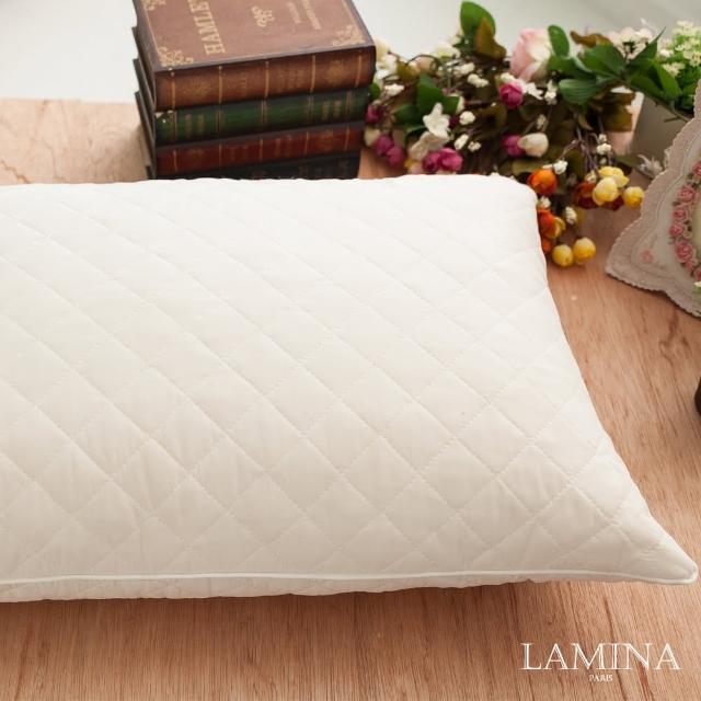 【LAMINA】舒適Q彈乳膠枕(1入)