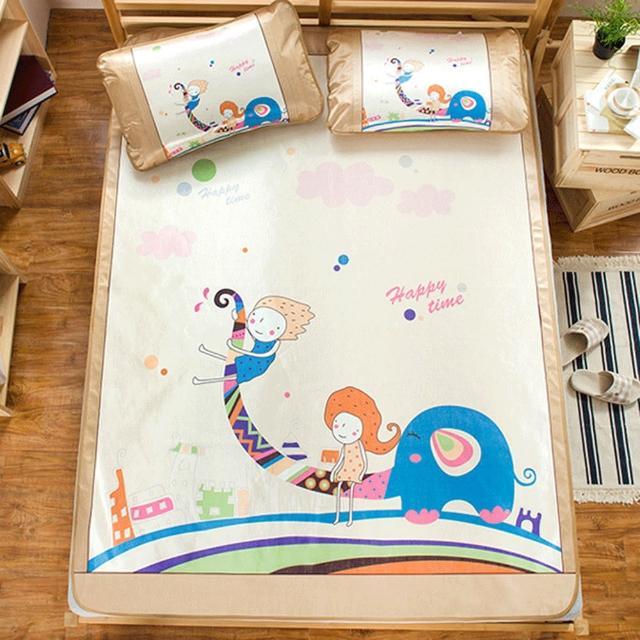 【BELLE VIE】頂級網眼透氣涼感卡通冰絲蓆-小王子(雙人-150X188cm)