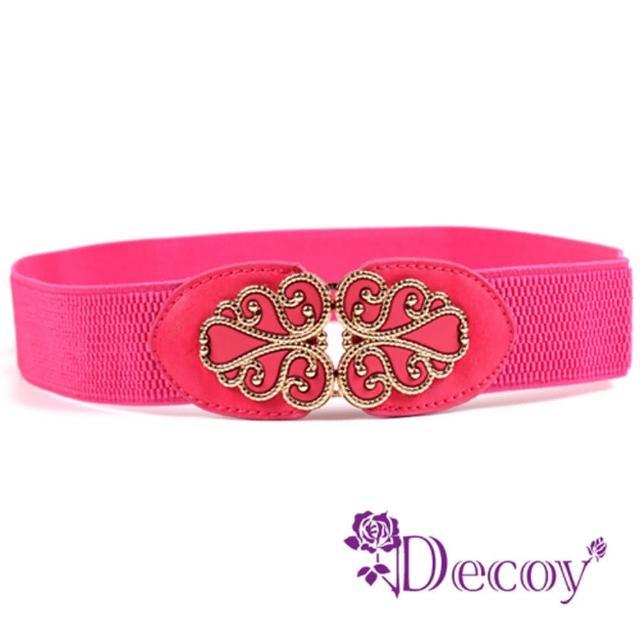 【Decoy】纏綿金線*復古彈性腰封/二色可選