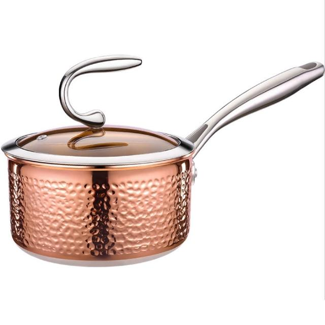 【PUSH!】廚房用品304不銹鋼奶鍋嬰兒輔食鍋泡麵拉麵鍋小湯鍋(煮奶鍋D254)