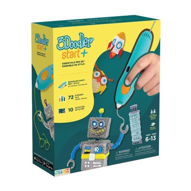 【3Doodler】Start 3D列印筆基本組合(3D列印 DIY 公仔 模型 玩具)