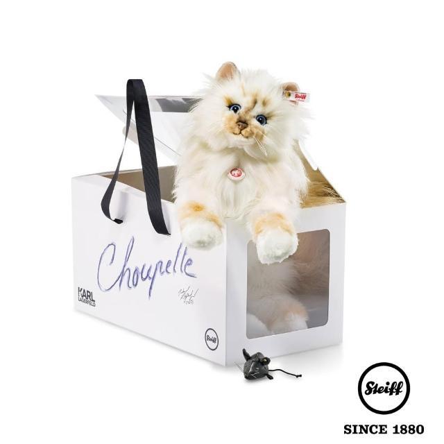 【STEIFF德國金耳釦泰迪熊】Choupette 貓咪(限量版)