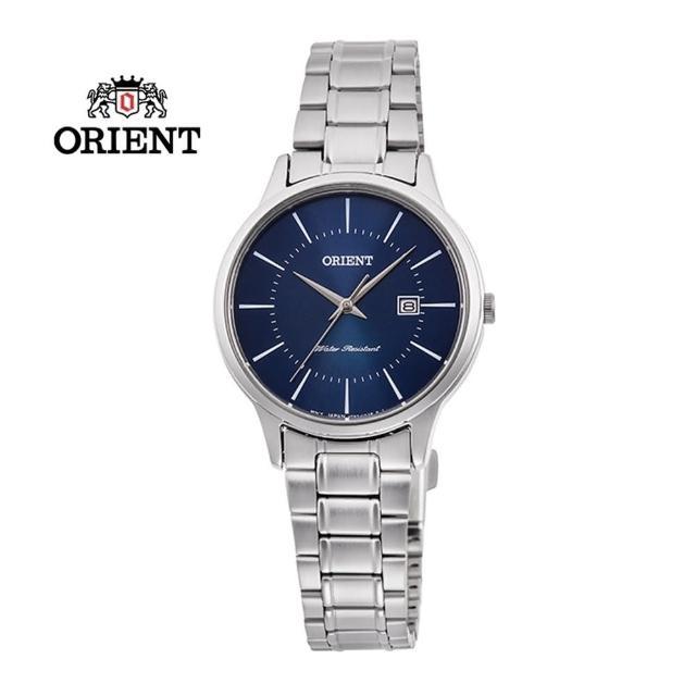 【ORIENT 東方錶】ORIENT 東方錶 CONTEMPORARY 系列 鋼帶款 藍色 RF-QA0011L-30.0mm(RF-QA0011L)