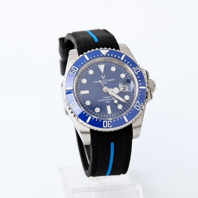 【Valentino Coupeau】防水夜光膠錶