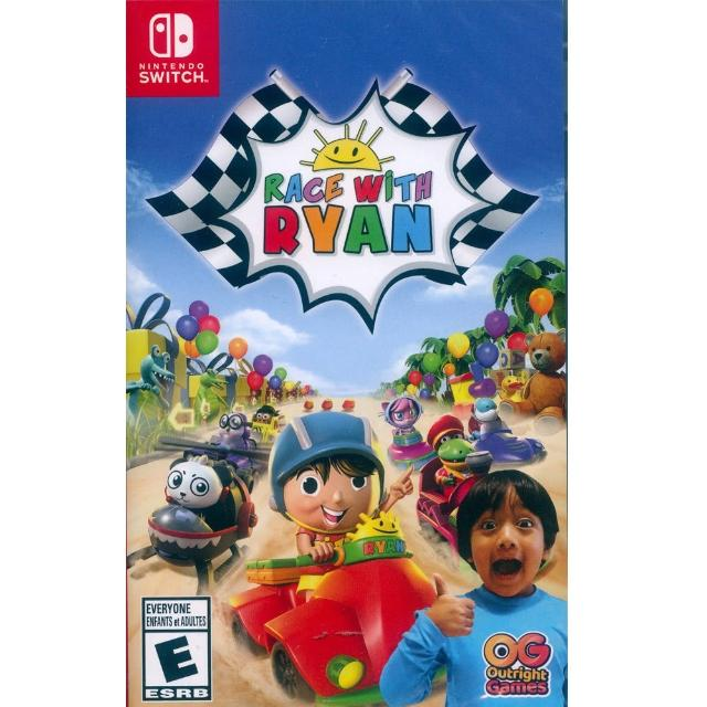【Nintendo 任天堂】NS Switch 與萊恩一起賽車 中英日文美版(Race with Ryan)