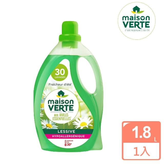 【法國綠墅Maison Verte】洗衣精-夏日微風1.8L